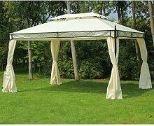 400 cm x 300 cm Terrasse Pearl aus Stahl Garten