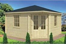 400 cm x 400 cm Gartenhaus Stuart Garten Living