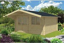 400 cm x 540 cm Gartenhaus Niko Garten Living