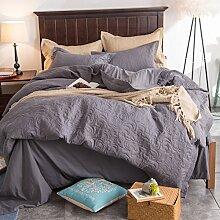 400 Gewinde graf comforter set weich bequeme bettwäsche-kollektion-P Queen1