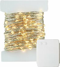 400 LED Lichterkette Batterie-betrieben