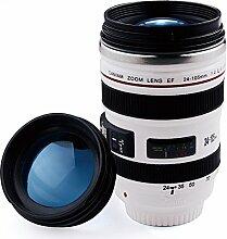 400ml Edelstahl Kamera Objektiv Kaffee Becher