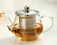 400 ml handgefertigte Teekanne mit Filter,