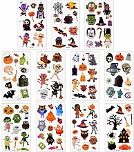 400 Stück Halloween temporäre Tattoo Cartoon