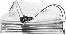 400g/M² Transparente Wasserdichte PVC Plane,Klar