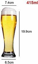 400ml 500ml 650ml Bierglas Becher Große