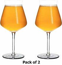 400ml Bierglas Tulip Classics Beer (2er-Set),