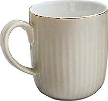 400Ml Goldstreifen-Becher Kreative Elegante Tasse