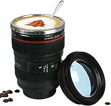 400ML Kamera Tasse Objektiv Becher Nicht