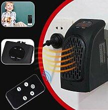 400W Mini-Heizlüfter Elektro-Wandwärmer mit