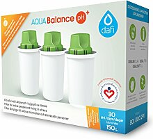 4030 Dafi Balance pH+ Classic Wasserfilter Kartuschen passend auch für Brita Classic, PearlCo Classic (3)