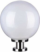 Φ40CM Spaltelampe Rostfreier Stahl Säule-Lampe