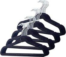 40er-Set Raumspar-Kleiderbügel, extra schmal