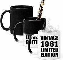 40th Birthday Vintage 1981 Limited Edition - 11oz
