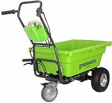 40V Akku-Gartenwagen - ohne Akku und Ladegerä