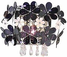 40W Moderne Wandleuchte mit 1 Light in Floral Shades