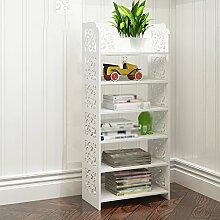 42 * 24 * 96,5 cmBookshelf Regal Landung Einfache Schließfächer Modern Einfache Bücherregal Ecke Rahmen Regal Holz Bücherregal