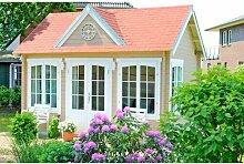 420 cm x320 cm Gartenhaus Clockhouse