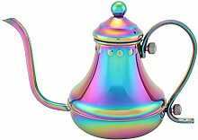 420 ml Schwanenhalskessel, Edelstahl-Teekanne,