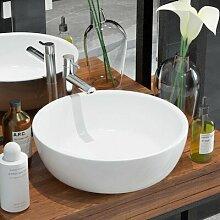 420 mm Rundes Aufsatz-Waschbecken Riverside aus