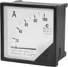 42L6 Modell Square Amperemeter AC 0-100A Gauge,