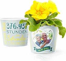 43. Hochzeitstag Geschenk – Blumentopf (ø16cm)