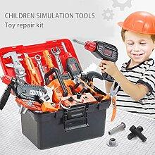 43PCS Kinder Elektrische Reparatur Schraubendreher