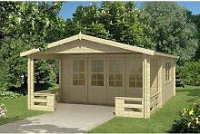 440 cm x 663 cm Gartenhaus Kenyon Garten Living