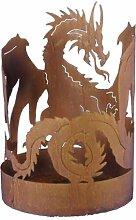 440s.de Drachen-Feuerschale ca. 60 cm