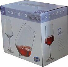 44713 - SANDRA Weinkelch, 450ml, 6er-Set im GK,