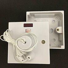 45A 2Way Status Decke Pull Cord Schalter mit