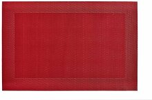 45 cm Deckchen Hadena Konsimo Farbe: Dunkelrot