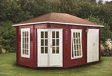 45 mm Gartenhaus Agnes ca. 440x300 cm (unbehandelt)
