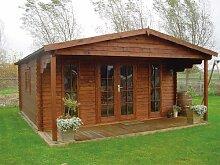 45 mm Gartenhaus Emiel ca. 500x670 cm (unbehandelt)