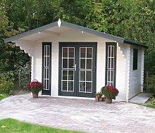 45 mm Gartenhaus Inglund ca. 380x320 cm