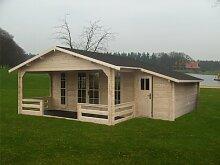 45 mm Gartenhaus Vuelle ca. 685x730 cm