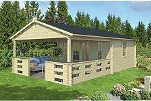 450 cm x 720 cm Gartenhaus Samir Garten Living