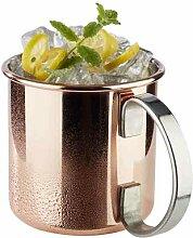 450 ml Becher Moscow Mule aus Edelstahl