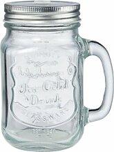 450 ml Moscow-Mule-Becher Mason Refresh aus Glas
