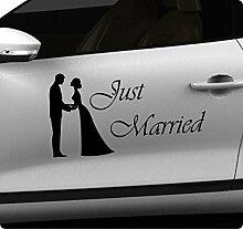 45cm Hochzeit Wedding Aufkleber Sticker