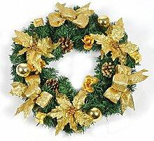 45cm Rot rattan Christmas ornaments Kleiderbügel