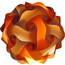 45cm weiss orange Lampe Stimmungslicht Nachtlicht weiss orange 45cm