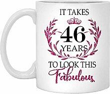 46. Geburtstagsgeschenk Für Frauen-Es