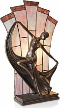 48 cm Tischleuchte Tiffany Artistar