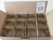 48 Schnapsgläser Schnapskrüge Stamper Glas
