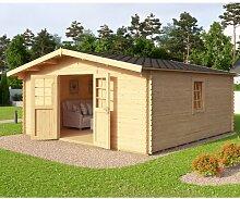 480 cm x 480 cm Gartenhaus Beach Garten Living