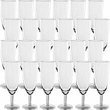 48er Set Sektgläser Champagnergläser aus Glas -