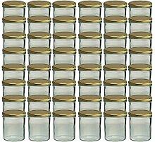 48er Set Sturzglas 350 ml Marmeladenglas