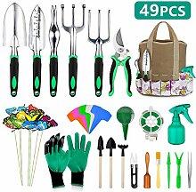 49-teiliges Gartenwerkzeug-Set, extra