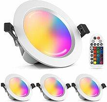 4er Bluetooth Smart 15W RGBW+CCT Dimmbar 230V LED